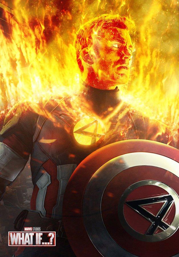 Какбы выглядел Капитан Америка, будь онеще иЧеловеком-факелом?  | Канобу - Изображение 3287