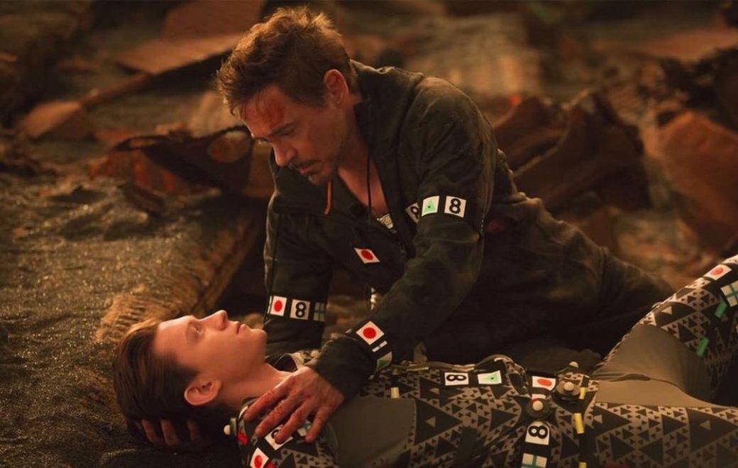 Фото сосъемок фильма «Мстители: Война Бесконечности»: много Кэпа, Старка иПаука. - Изображение 6
