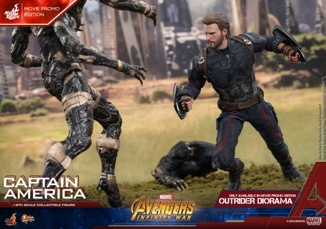 Взгляните нановую фигурку Капитана Америка из«Войны Бесконечности» отHot Toys. - Изображение 10