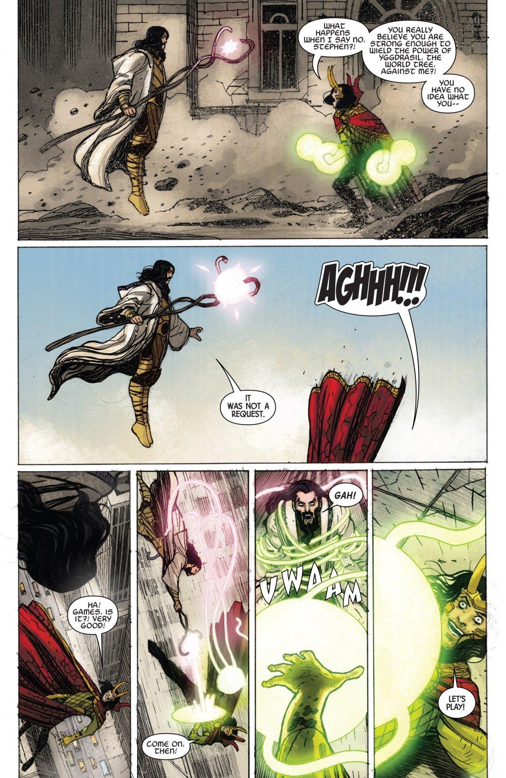 Чтобы победить Локи, Доктор Стрэндж призвал одного изсамых сильных злодеев Marvel. - Изображение 1